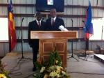 Pastor Guy and Pastor Rosinel